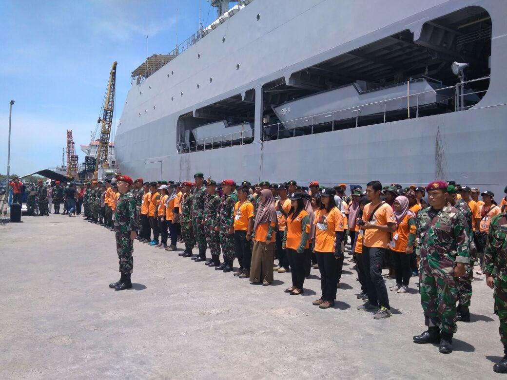Tim Ekspedisi NKRI Koridor Papua Bagian Selatan 2017 Meninggalkan Merauke