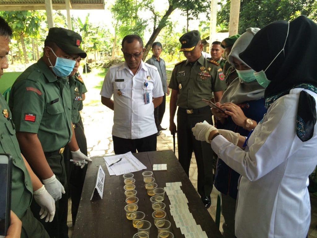 Prajurit TNI Harus Bersih Dari Narkoba