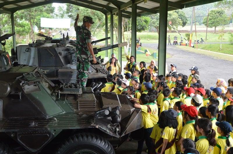 Brigif Para Raider 18/2 Kostrad Didik Generasi Muda Bangsa Sejak Dini