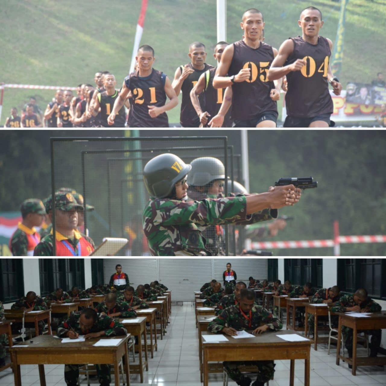 Hari Kedua, Ton Tangkas Gelar Garjas A, Menembak Pistol dan Teori Ilmed
