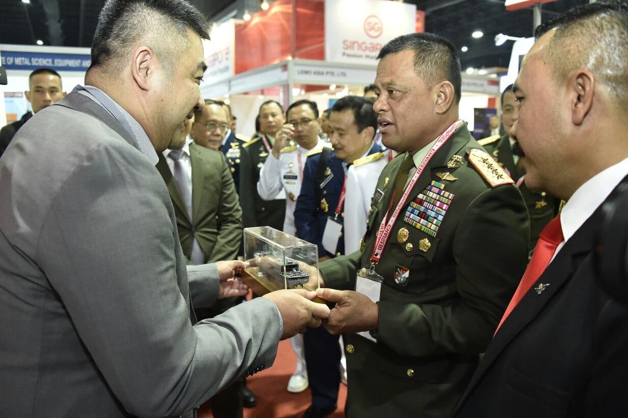 Panglima TNI Hadiri The Defense & Security 2017 di Thailand