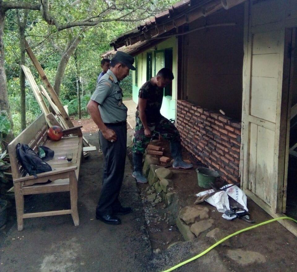 TNI Rehab 28 Unit RTLH di Kabupaten Brebes