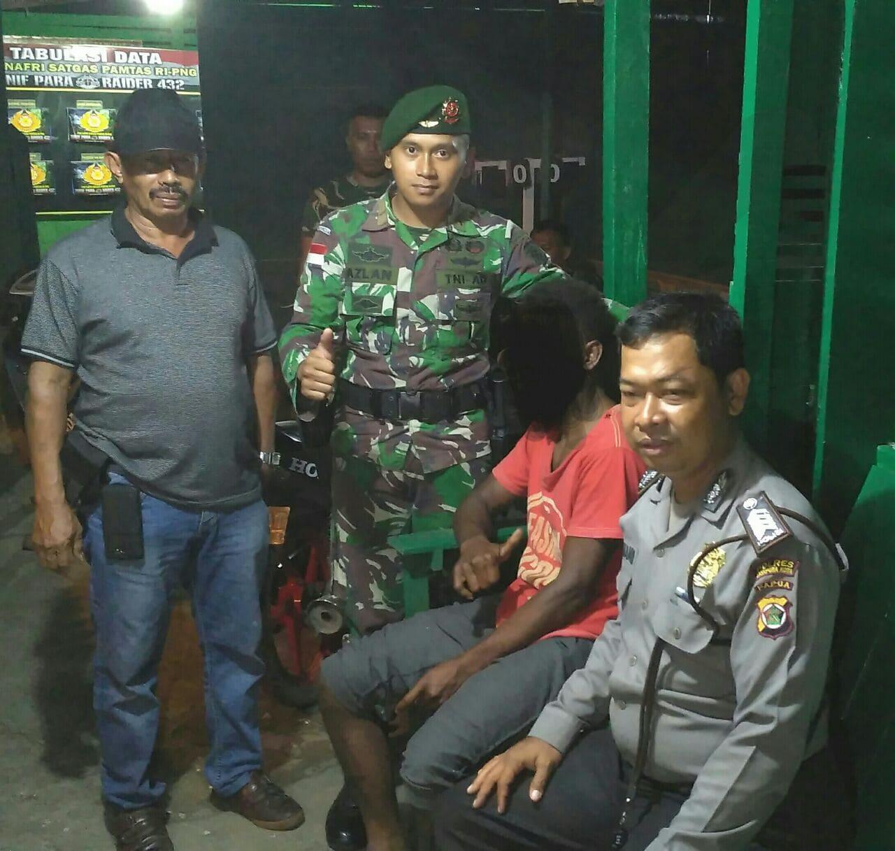 DPO Polsek Muara Tami Di Tangkap Prajurit Kostrad Saat Sweeping