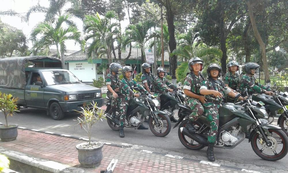 TNI Siap Amankan Malam Natal di Kediri