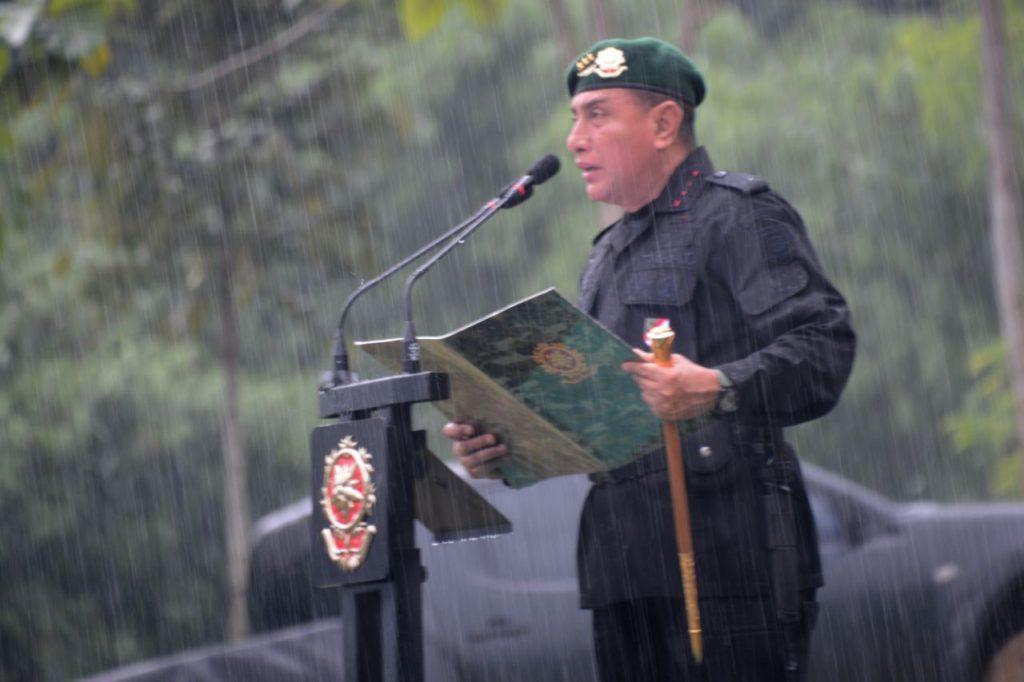 Pangkostrad Tutup Latihan Pembentukan Taipur VII Kostrad