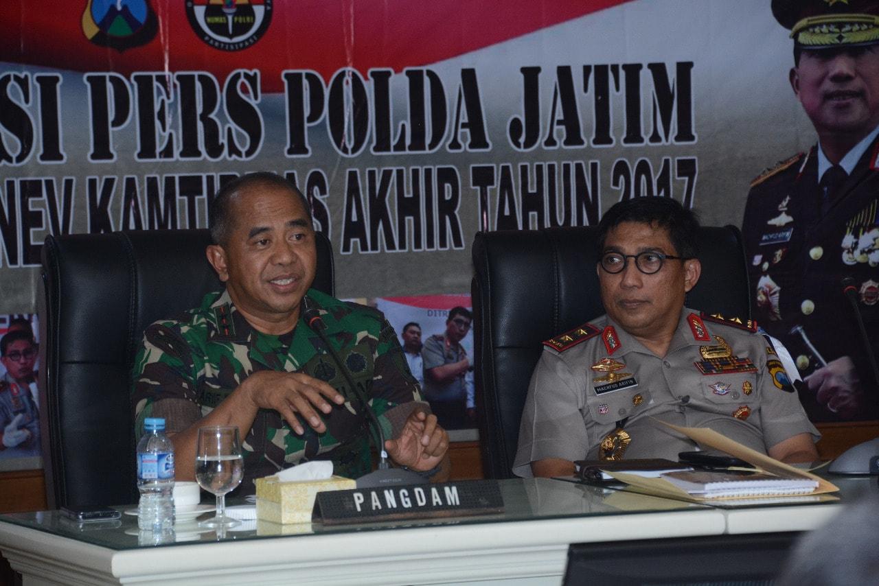 TNI Polri Jawa Timur Perkuat Sinergitas