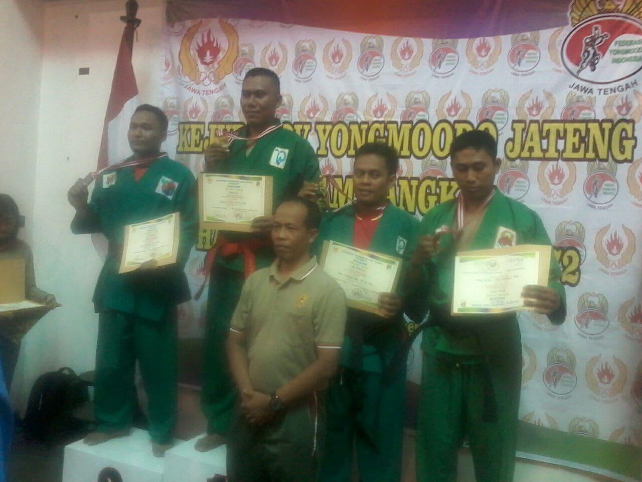 Atlet Yongmoodo Pekalongan Sabet 3 Medali di Kejurprov Jateng