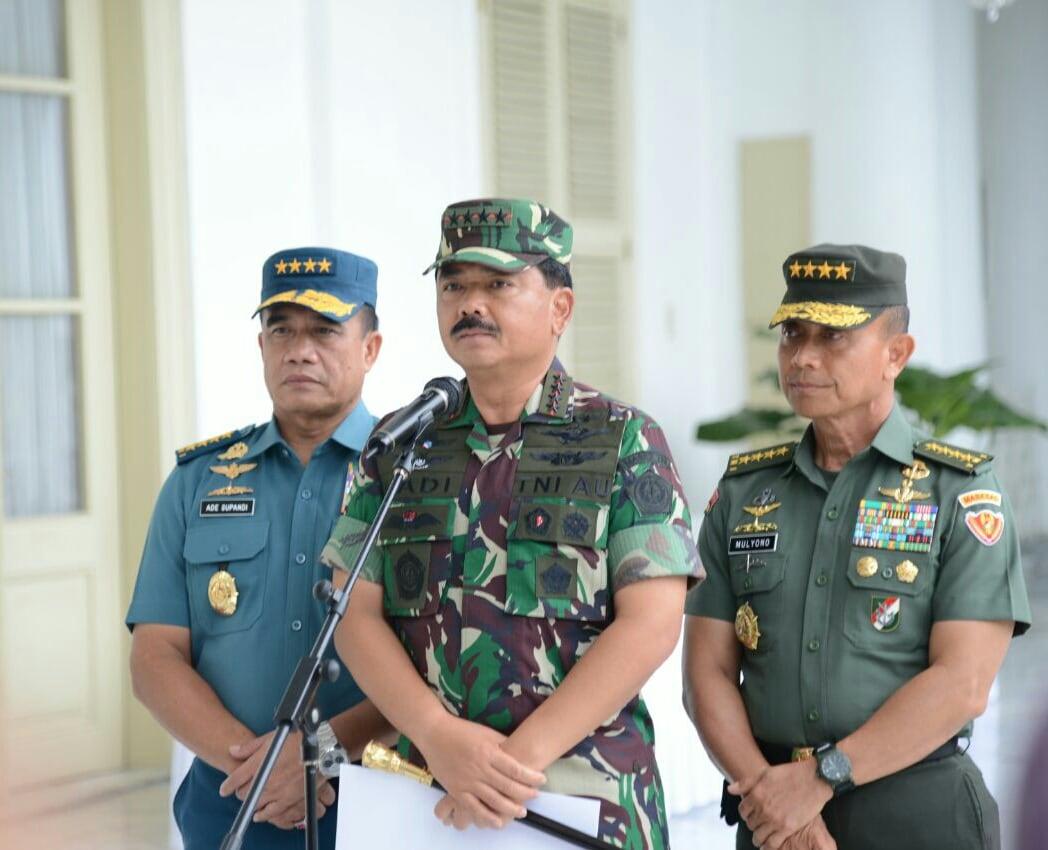Panglima TNI : Kemandirian Industri Strategis Dalam Negeri Dukung Kebutuhan Alutsista TNI.
