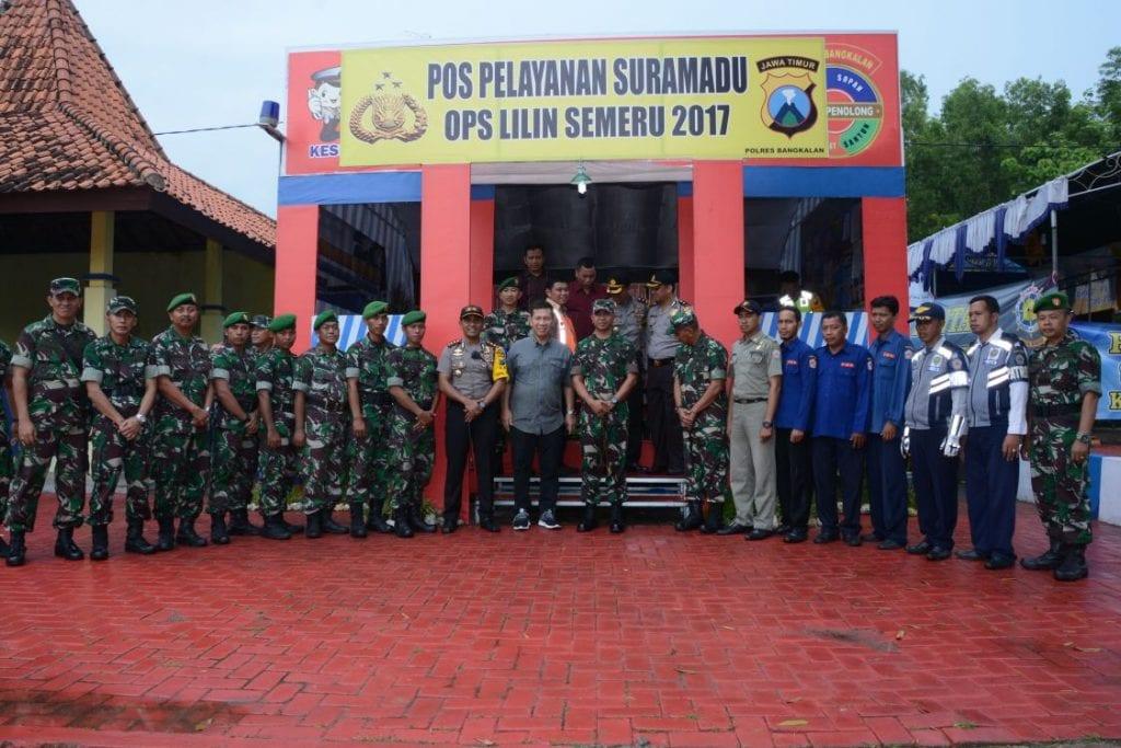 Pangdam Sidak Pos Pengamanan di Bangkalan