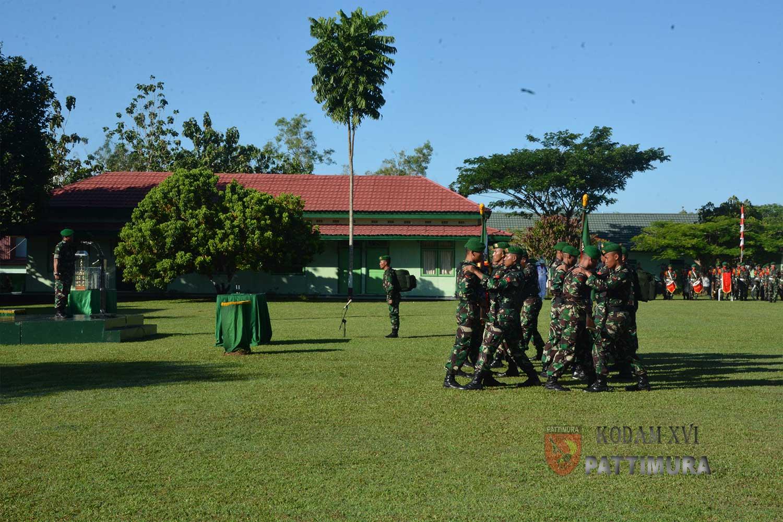 Pangdam Pattimura Pimpin Upacara HUT ke -69 Infanteri.