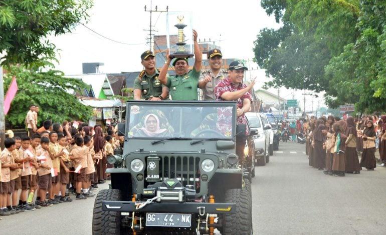Kodim 0406/Mura Juara Lomba Binter Kodim Madya TNI AD 2017