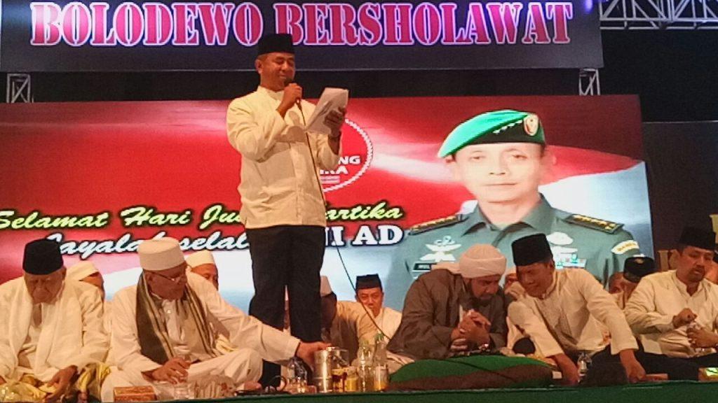 Demi Keselamatan Bangsa, Kodam V/Brawijaya Gelar Sholawat Bersama