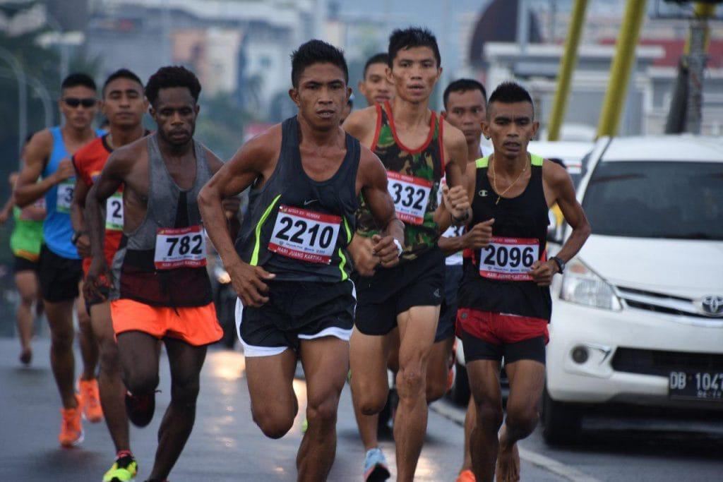 Peringati HJK, Lomba Lari 10K Kodam XIII/Merdeka Sukses