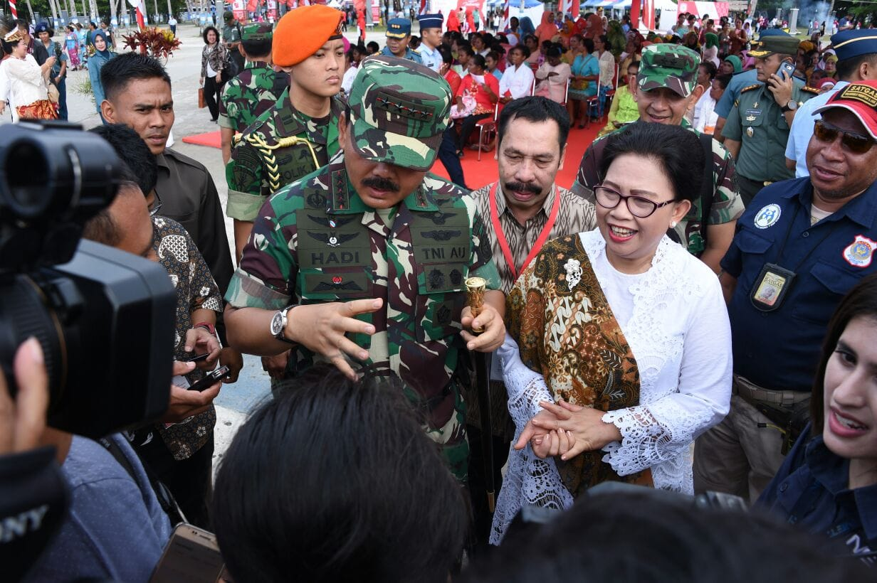 Panglima TNI : Peran Ibu Luar Biasa, Tonggak Keberhasilan Anak