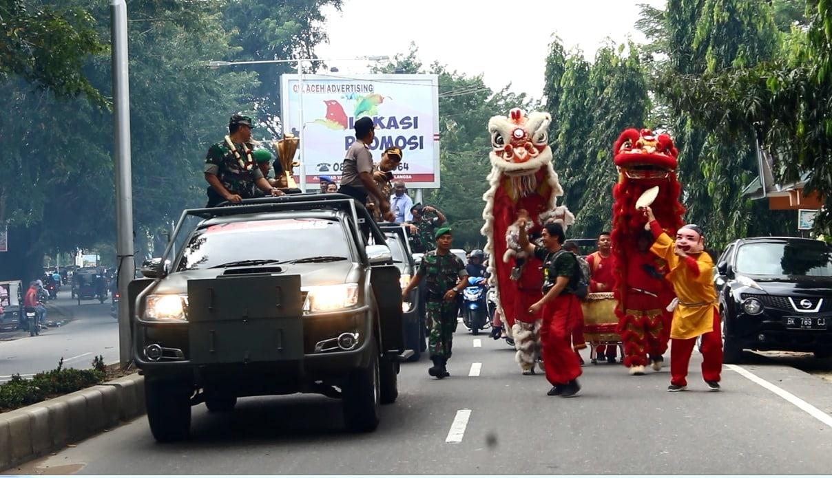"""Piala Bergilir Kasad """"Adi Manunggal Utama"""" Tiba di Aceh"""