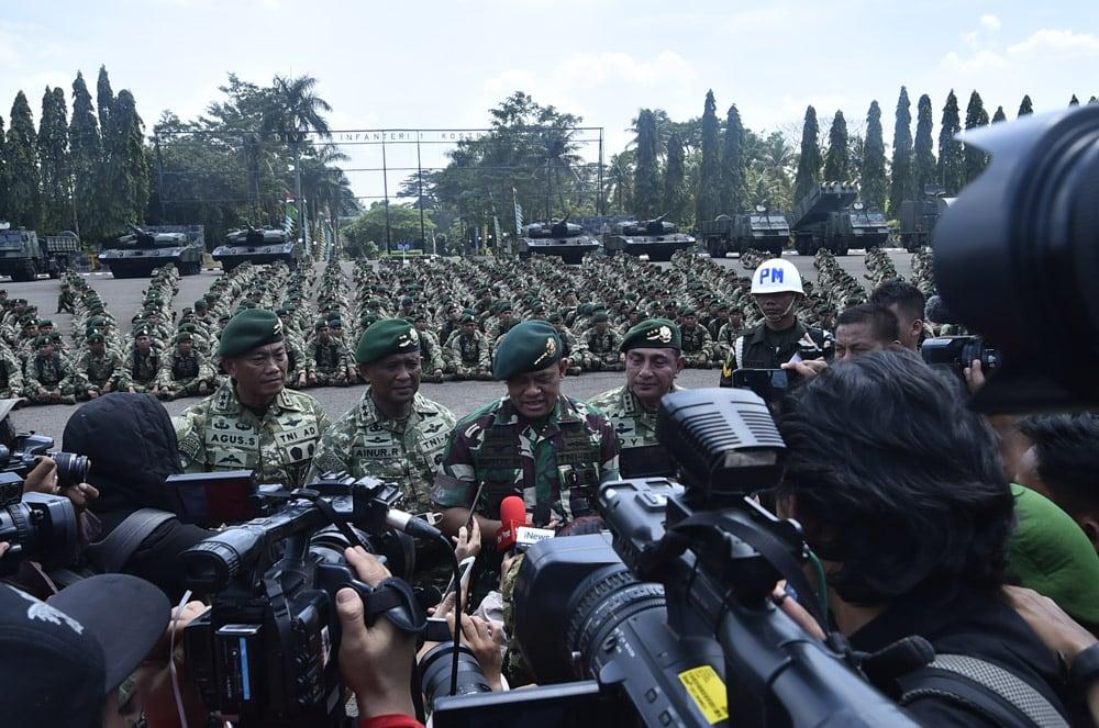 Panglima TNI : Mutasi Jabatan 85 Pati Sudah Melalui Prosedur Wanjakti TNI