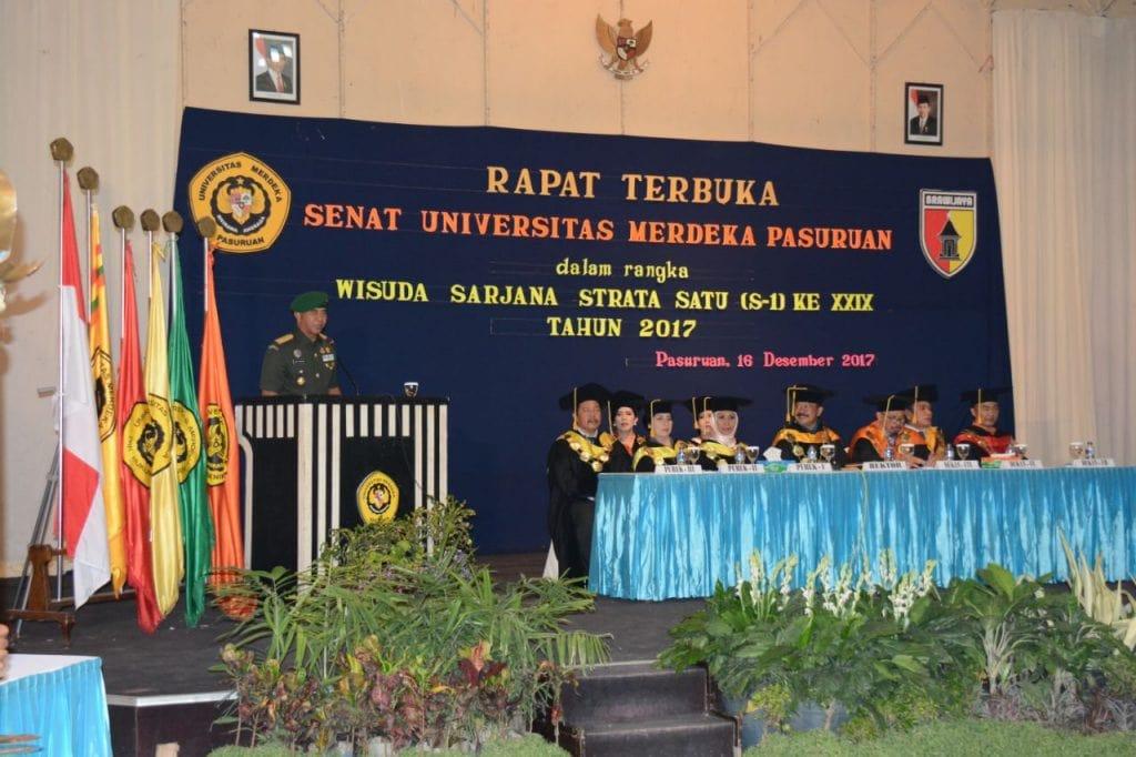 Alumnus Unmer Pasuruan Harus Jadi Garda Terdepan Dalam Membangun Bangsa