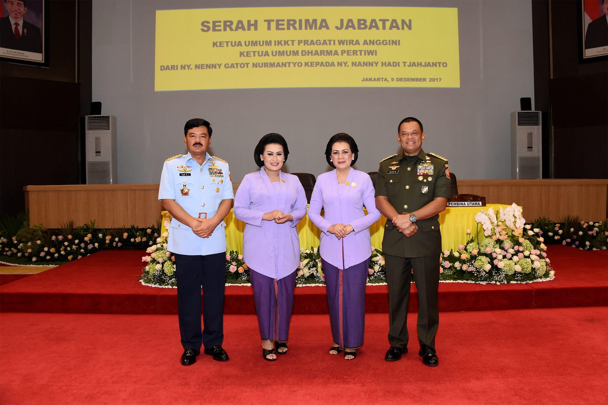 Panglima TNI Harap Organisasi Istri Prajurit Berperan Lebih Optimal