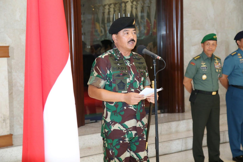 Panglima TNI : Program Prioritas TNI Kedepan adalah Pengembangan SDM