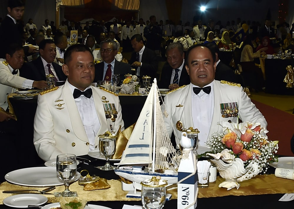 Panglima TNI Hadiri Fleet Day Dinner HUT ke-72 Armada RI