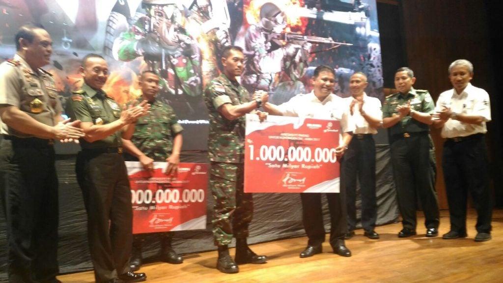 Sinergitas TNI AD-PT. Pindad Hasilkan Prestasi Dunia