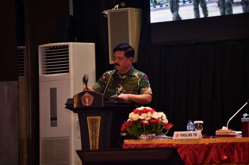 Panglima TNI : Rapim TNI-Polri Dukung Kebijakan Pemerintah