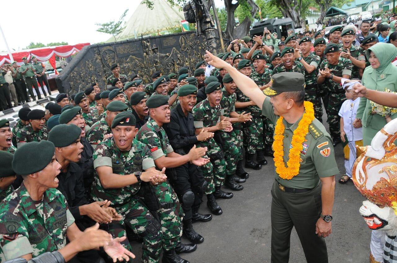 Prajurit TNI Harus Profesional dan Berdisiplin Tinggi