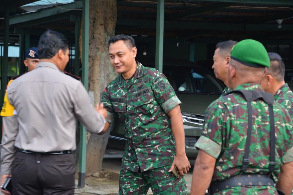 Jalin Sinergitas, Wakapolda Maluku Utara Silaturahmi Ke Korem 152/Babullah