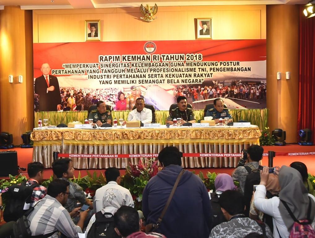 Panglima TNI : TNI Harus Siap Dengan Proyeksi Kegiatan 2018