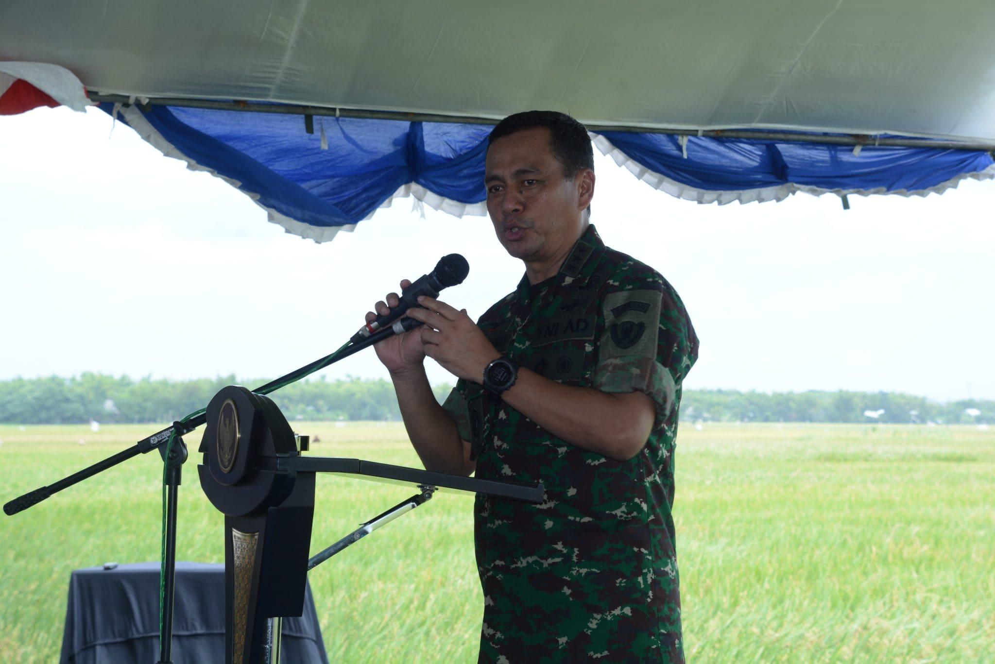 Wakasad: TNI AD Berkomitmen Suskseskan Swasembada Pangan Nasional
