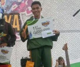 Prajurit Yonif Mekanis 411/Kostrad, Juara Lomba Lari 10 K