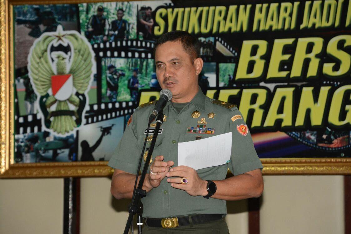 Dispenad Laksanakan Syukuran Peringati HUT ke-67 Penerangan Angkatan Darat