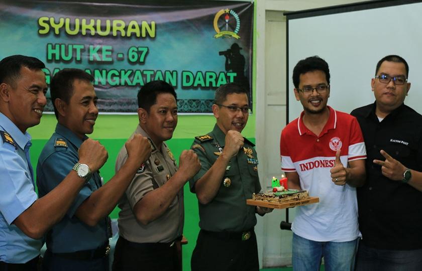 Bersama TNI-Polri, Jalin Sinergi dengan Media