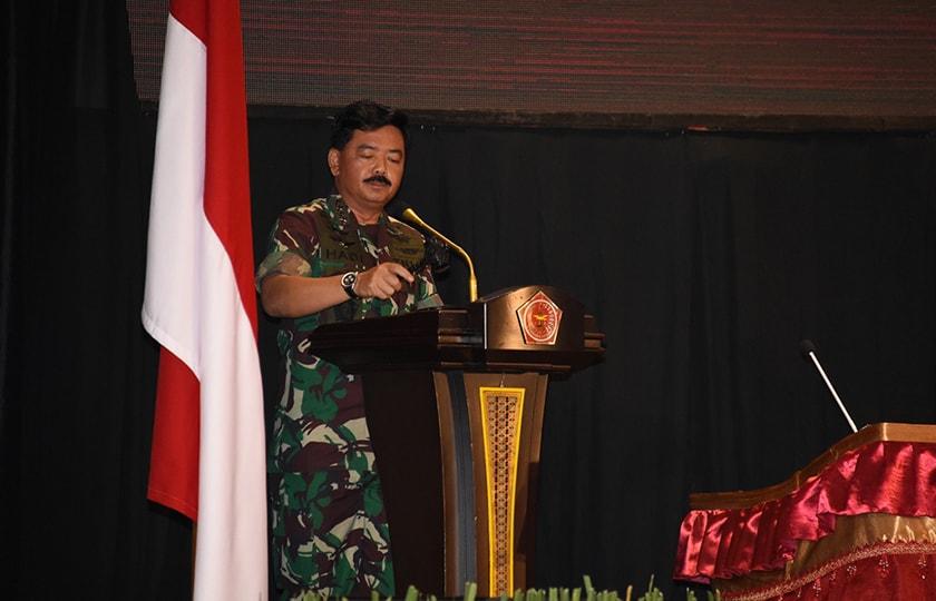 Panglima TNI Tetapkan 11 Program Prioritas Pembangunan TNI