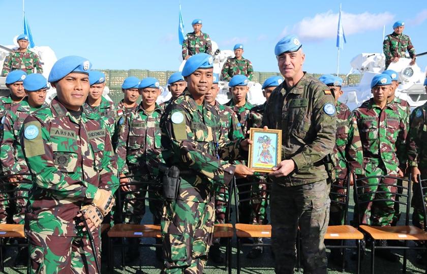 Komandan Sektor Timur Unifil Apresiasi Kinerja Pasukan Garuda di Lebanon