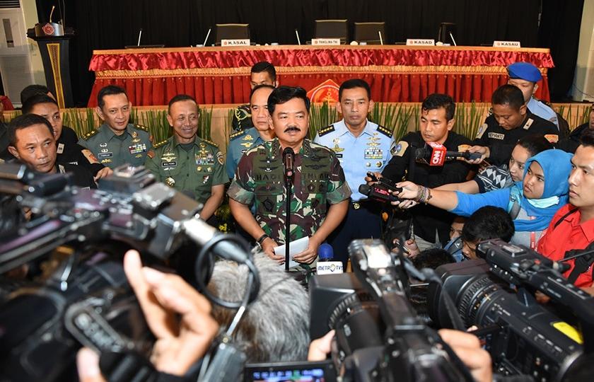 Panglima TNI : Penanggulangan Terorisme Demi Menjaga Keutuhan NKRI