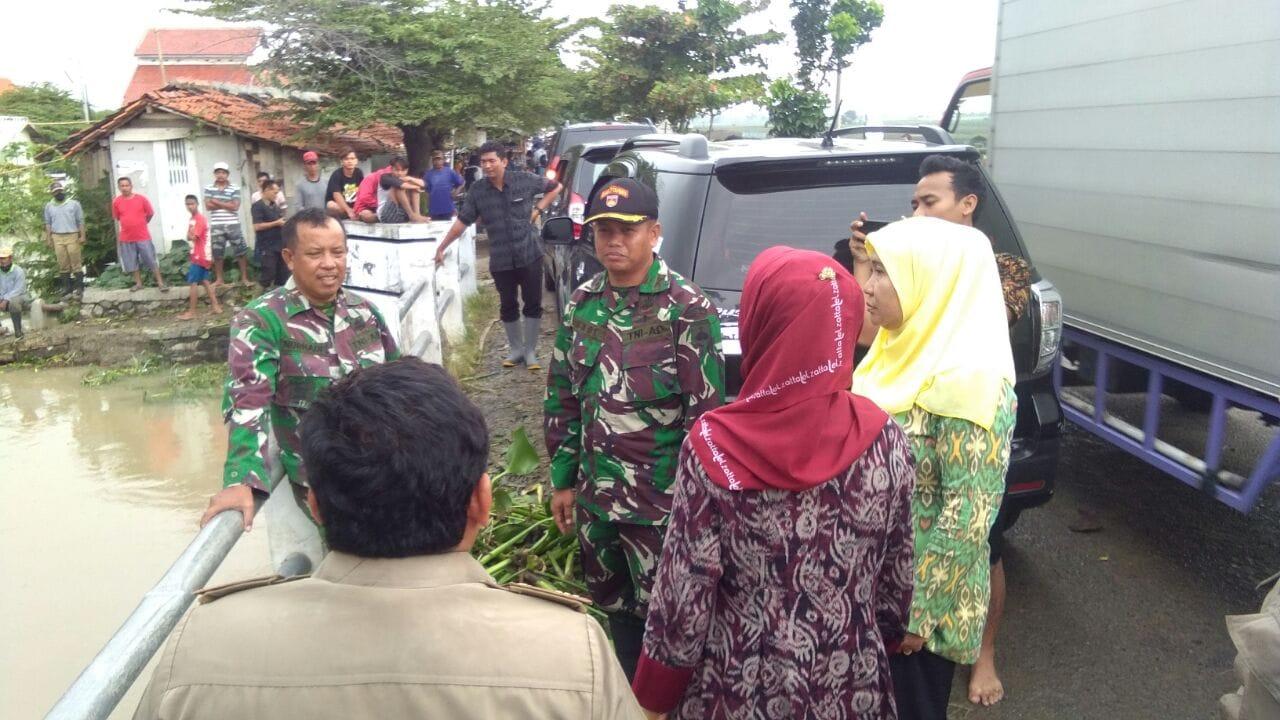 Normalisasi Aliran Sungai Pemali, TNI dan Polri Gelar Kerja Bakti