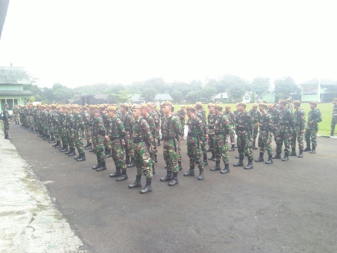 Kodam Jaya/Jayakarta Siagakan Prajurit di Titik Rawan Banjir
