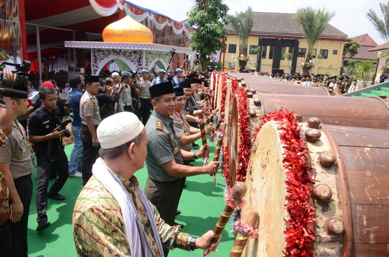 Pangdam Brawijaya Hadiri Peresmian Masjid Jami' Nurul Huda