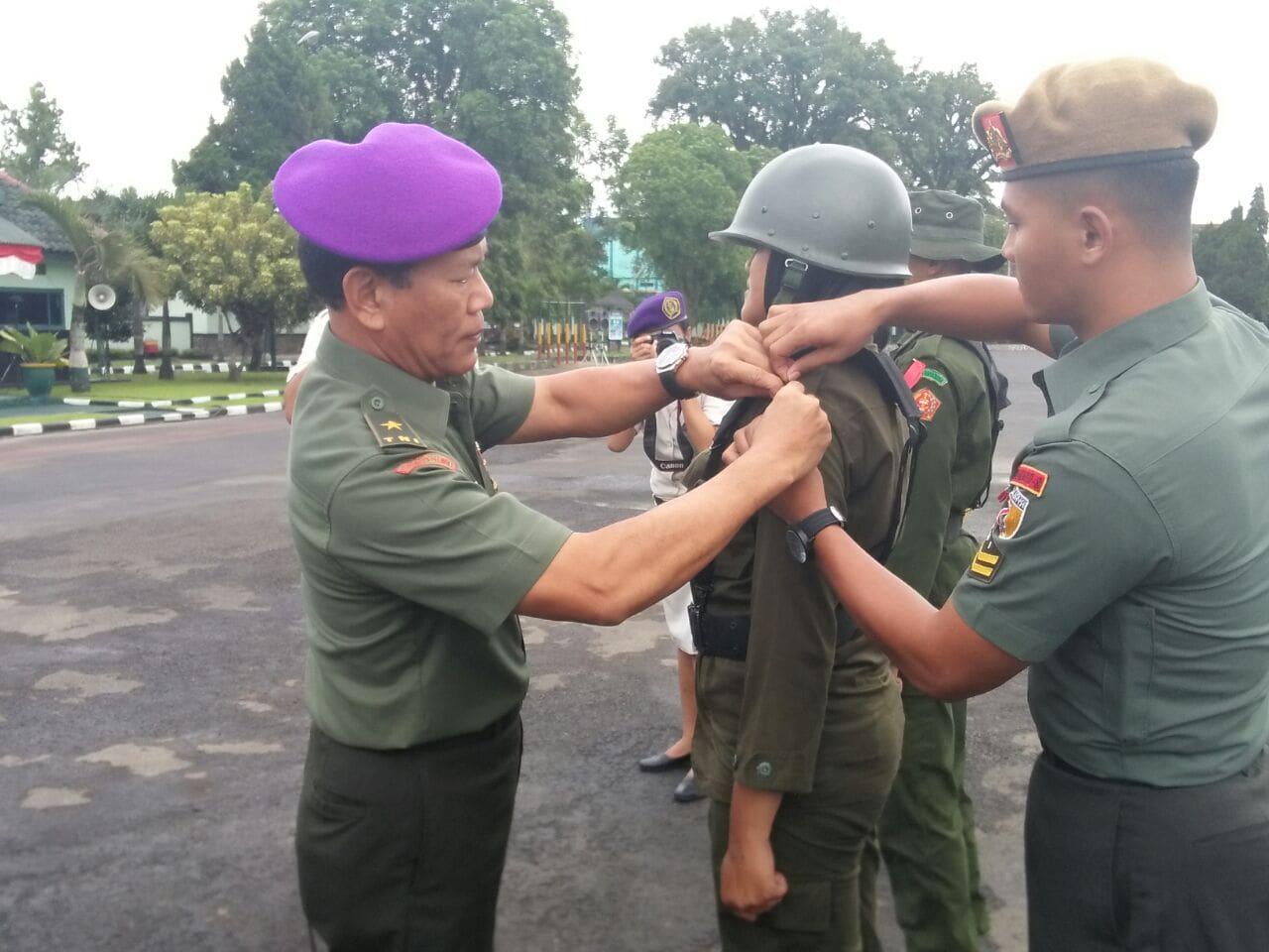 476 Resimen Mahasiswa Ikuti Pendidikan Latihan Dasar