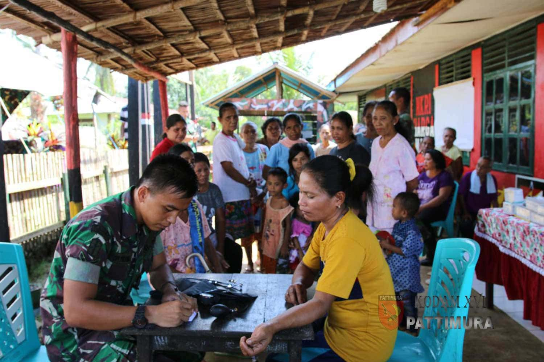 Pengabdian Prajurit TNI Kepada Masyarakat Loloda