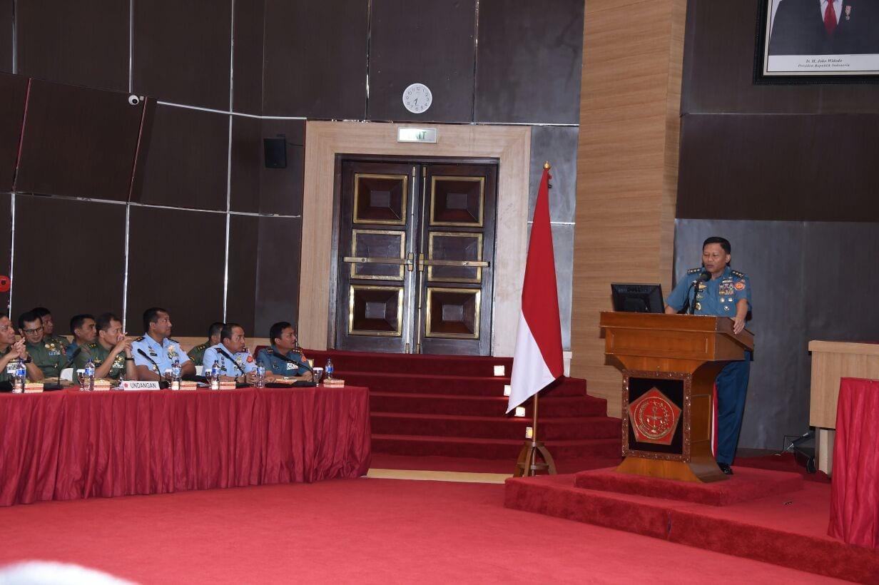 Kasum TNI: Kesiapsiagaan Unsur TNI Melalui Pembinaan Operasi dan Latihan