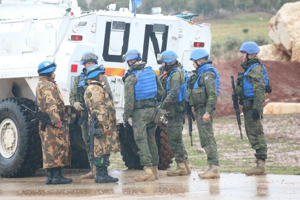 Indobatt Gelar Latihan Bersama Dengan Tentara Berbagai Negara