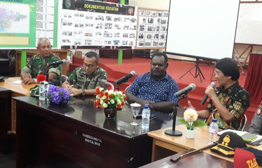 Tim UI Peduli Bersama TNI Melakukan Aksi di Distrik Suator dan Agats