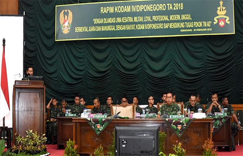 Pangdam: Bangun Karakter Prajurit Diponegoro Sesuai Jati Diri TNI