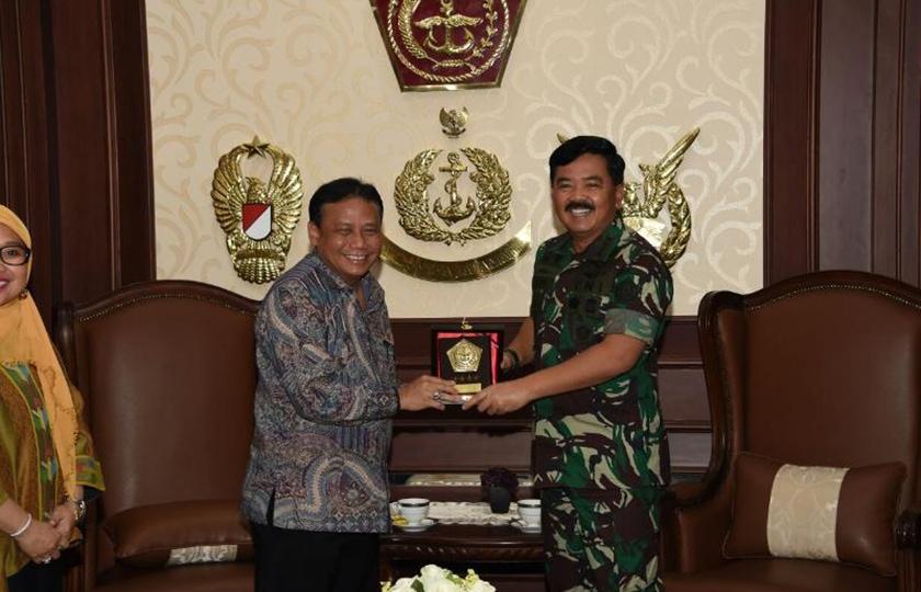 Panglima TNI: TNI Siap Bantu Tugas Bawaslu RI