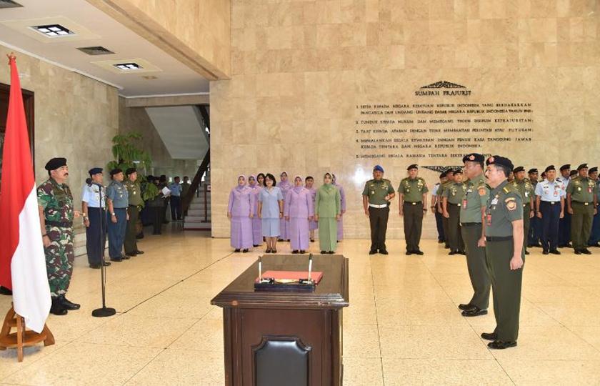 Panglima TNI : Kaderisasi di Lingkungan TNI Demi Keberlangsungan Organisasi