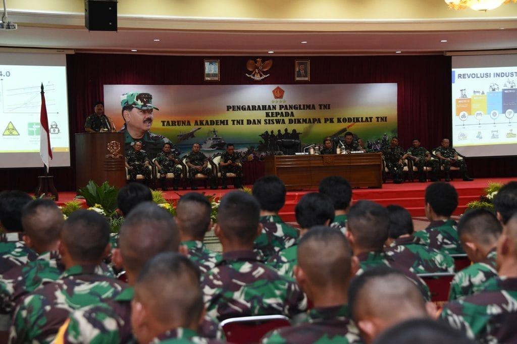 Panglima TNI : Jadilah Pemimpin Yang Berkarakter dan Memegang Teguh Komitmen