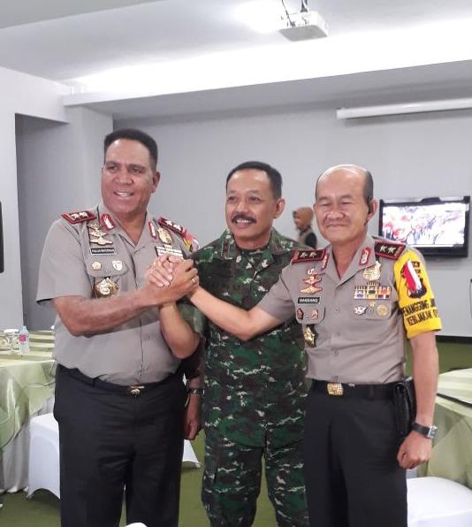 Pangdam I/BB Sambut Hangat Kunjungan Kapolda Sumut dan Riau