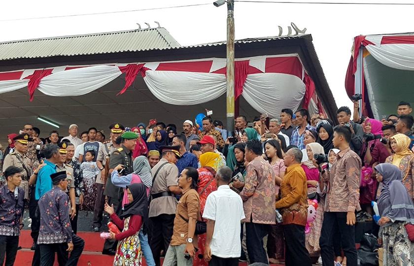 Kapolda Sumsel: Terima Kasih atas Kehadiran Pangdam Pada Pelantikan Bintara Polri
